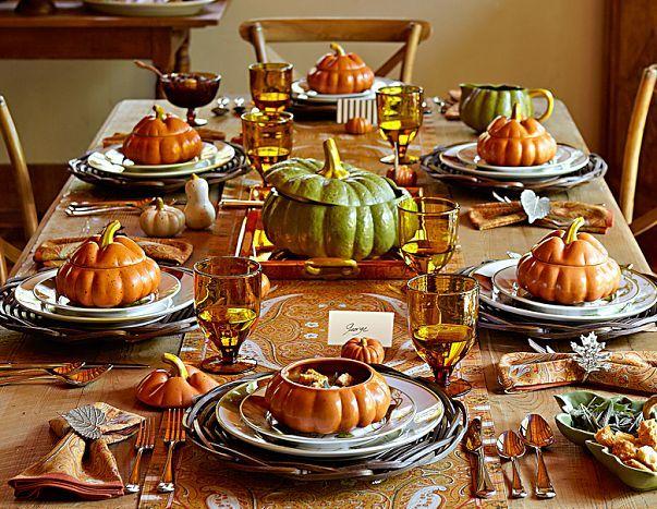 Thanksgiving Dinnerware Sets amp Fall