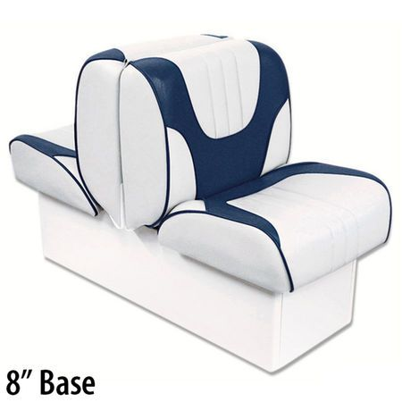 Overtons Deluxe Back To Back Lounge Boat Seat With 8 Base Boat Seats Seating Vinyl Flooring