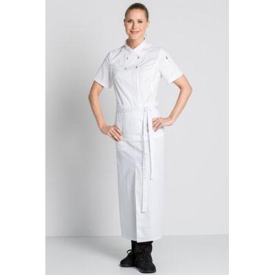 Veste Cuisine Blanche Lady Chef Look Avec Images Veste De Cuisine