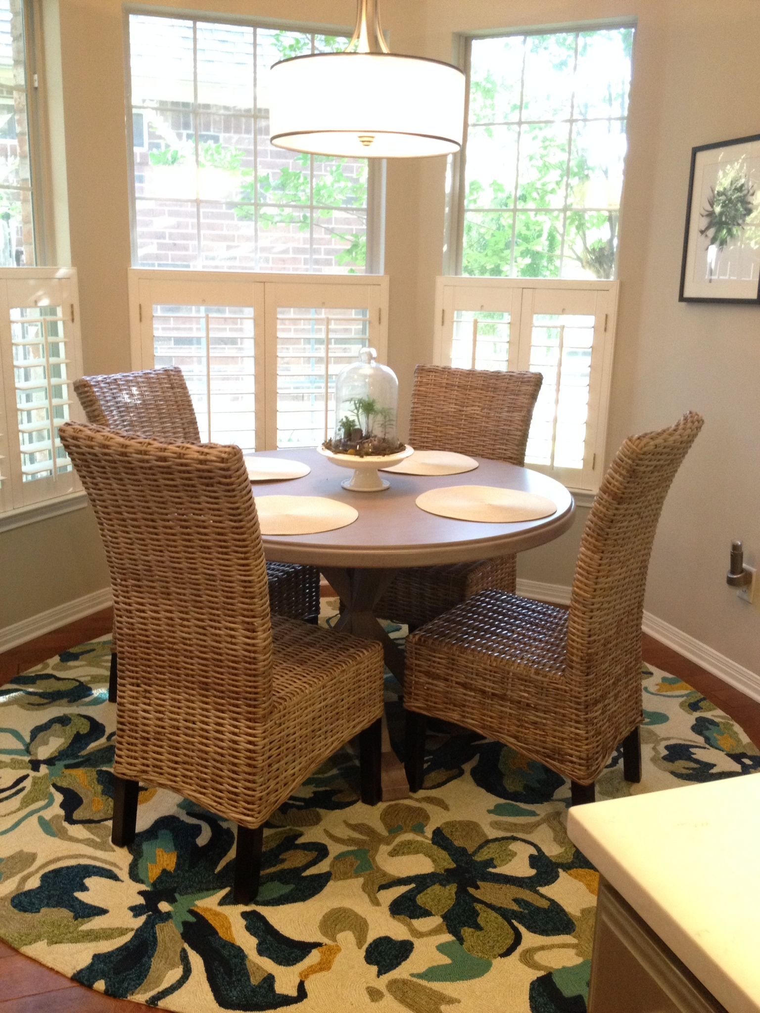 After Gray Hamilton Table From Home Decorators With