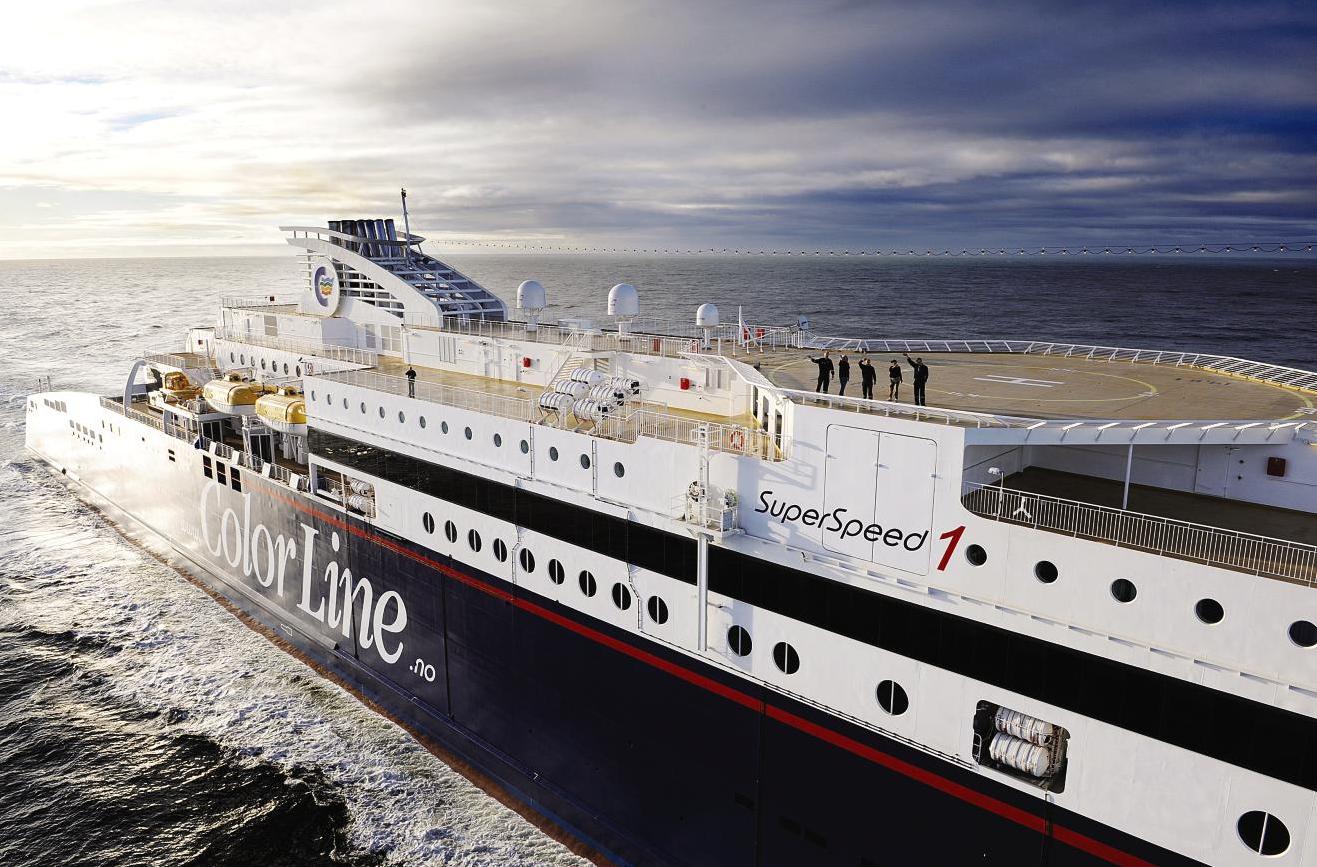 Book color line ferry - Color Line Superspeed 1 Diese F Hre Verkehrt Zwischen Hirtshals In D Nemark Und Kristiansand In S D
