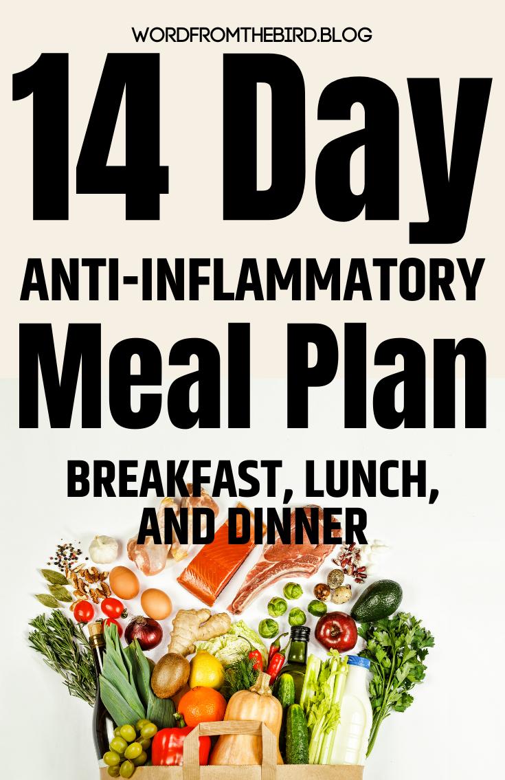 2 week anti inflammatory diet