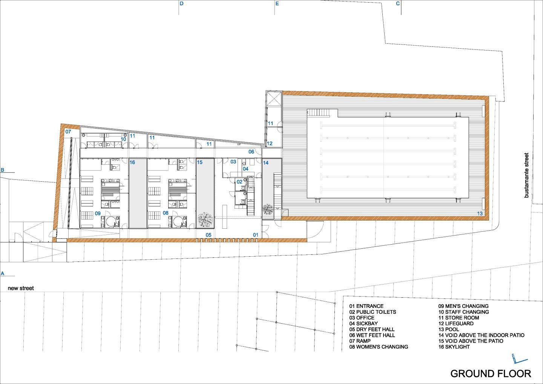 Vier Arquitectos Indoor Swimming Pool In Toro Swimming Pool Plan