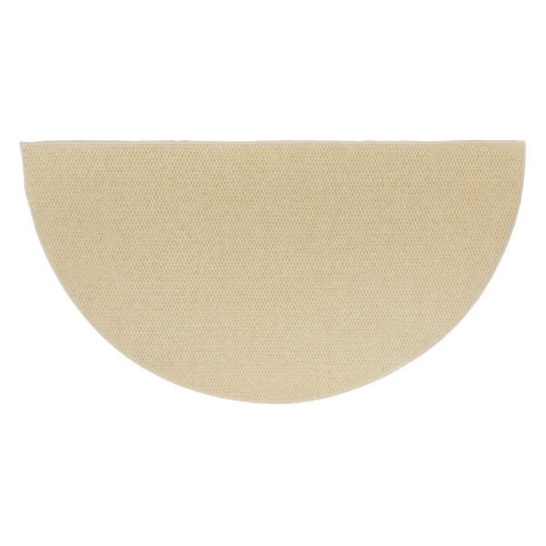 Sandstone Ember 6 Half Round Wool Fireplace Hearth Rug