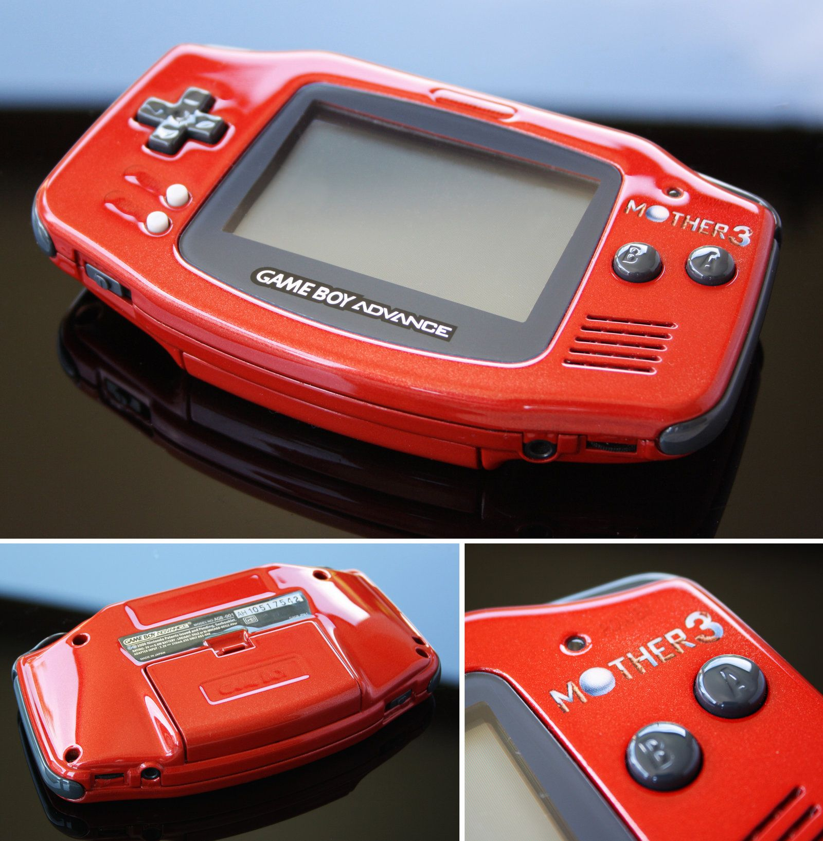 Custom Mother 3 Gba Game Boy Advance By Zoki64 Deviantart Com On