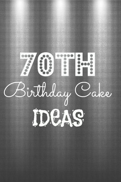 Diy Birthday Cake Ideas Birthdays Pinterest 70th