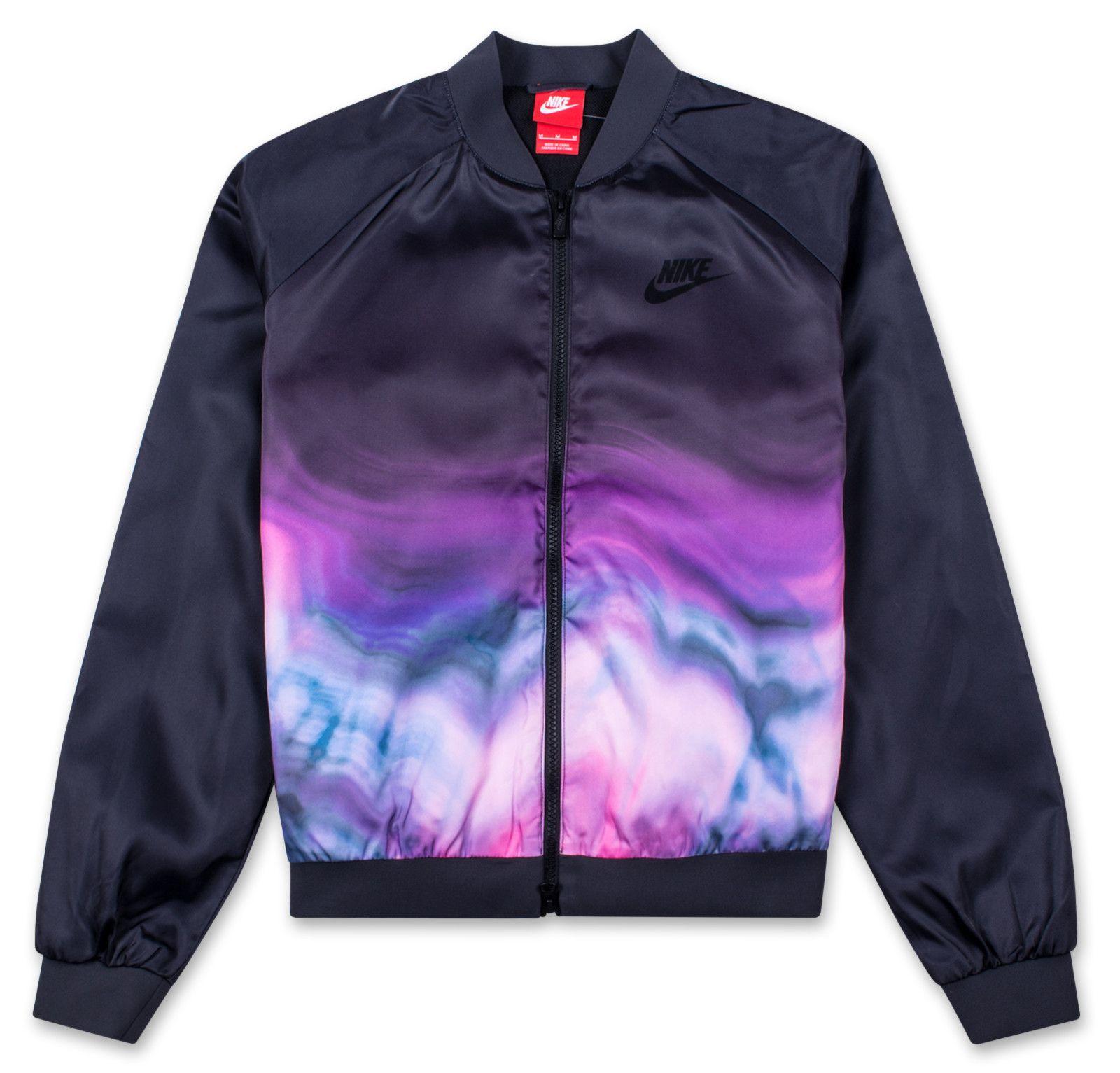 Nike Womens Sportswear Bomber Jacket Dtlr Com Sportswear Women Nike Women Sportswear [ 1533 x 1600 Pixel ]