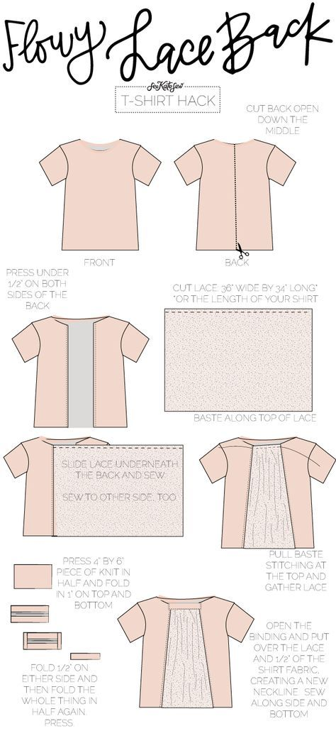 10 ways to refashion a t-shirt | Sewing Favorites | Pinterest ...