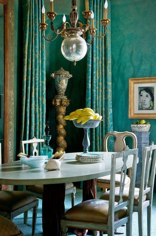 Eye For Design: Decorating With Turquoise