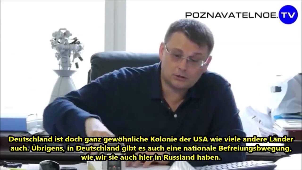 Deutschland ist eine ganz gewöhnliche US Kolonie - Russischer Abgeordneter