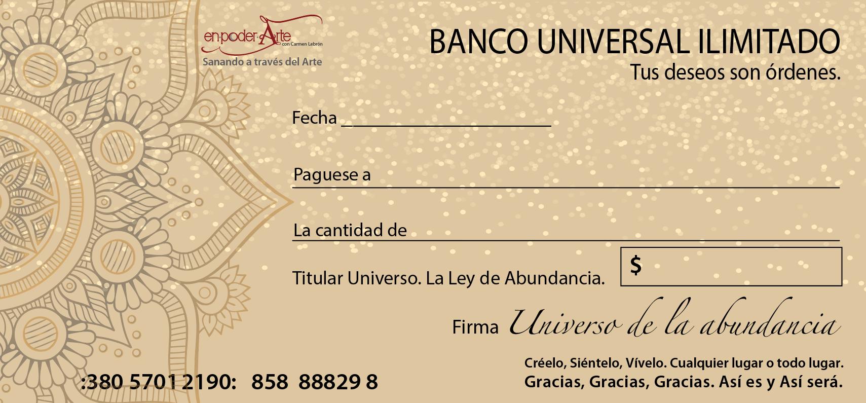 Cheque De La Abundancia Frases De Abundancia Abundancia Frase De Frida Kahlo