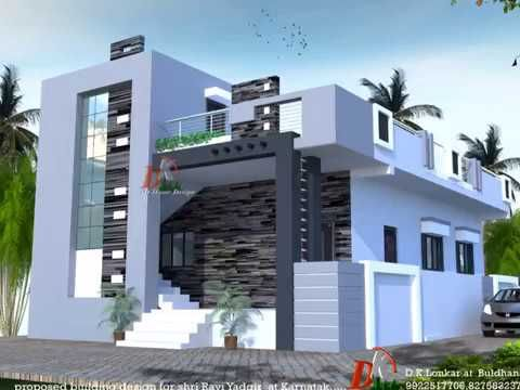 Inidual houses modern front elevations single floor home designs house youtube also rh tr pinterest