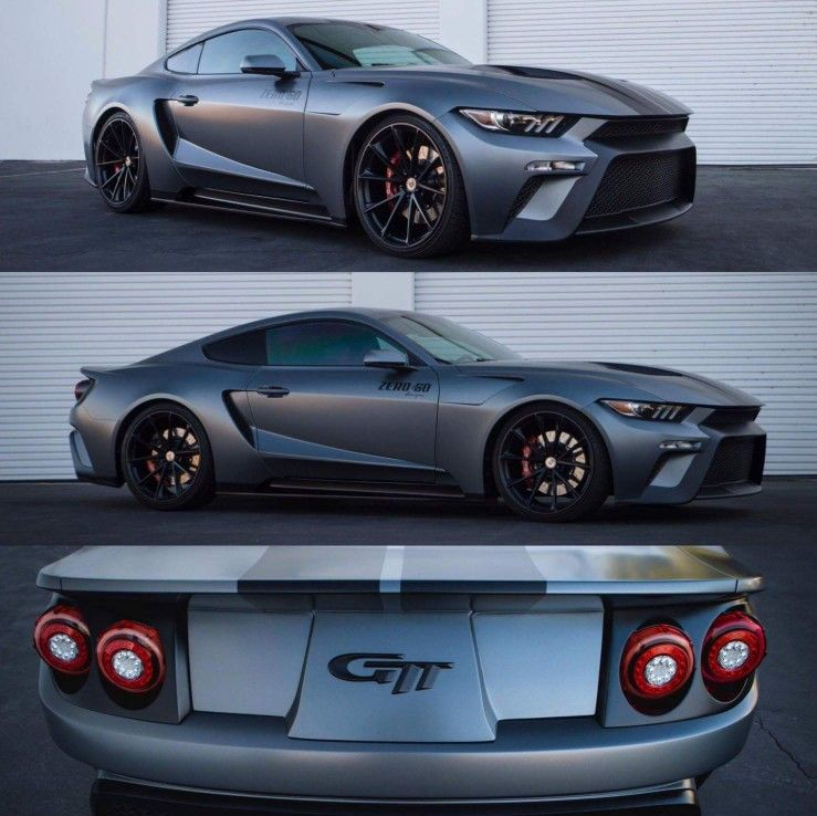 Zero To 60 S Ford Gtt This Private Company Combined Elements From