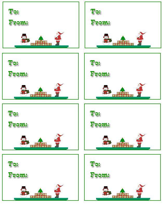 Free Printable Christmas Name Tags New Calendar Template