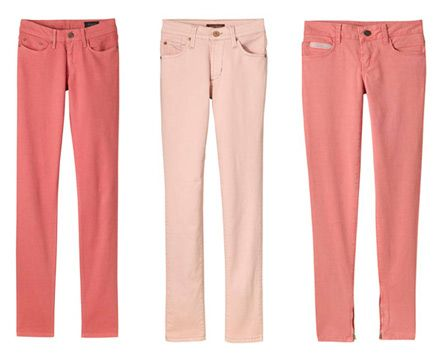 Pink Jeans...so cute