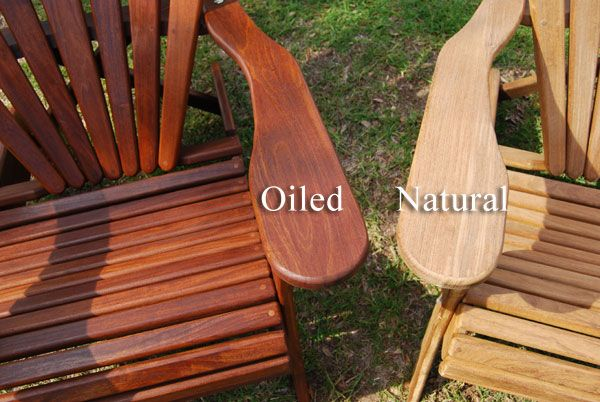 Good Ipe Adirondack Chairs   Better Than Teak Adirondacks