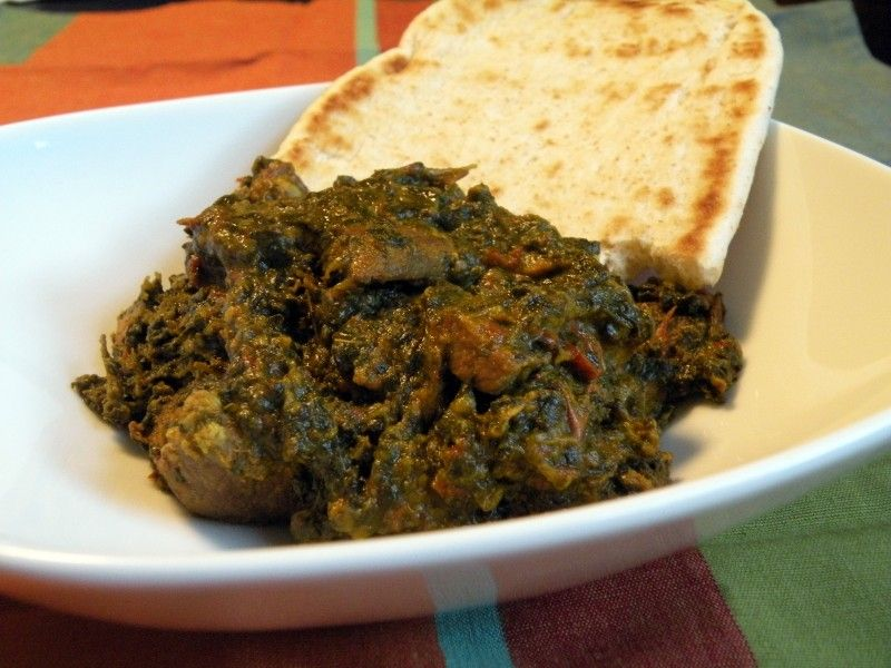 Saag gnost lamb with spinach indian food my food style and cuisine forumfinder Gallery