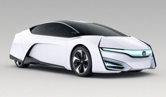 Honda Previews Its Next Generation Hydrogen Fuel Cell Vehicle In An Inhabitat Sustainable Design Innovation Eco Architecture Green Building
