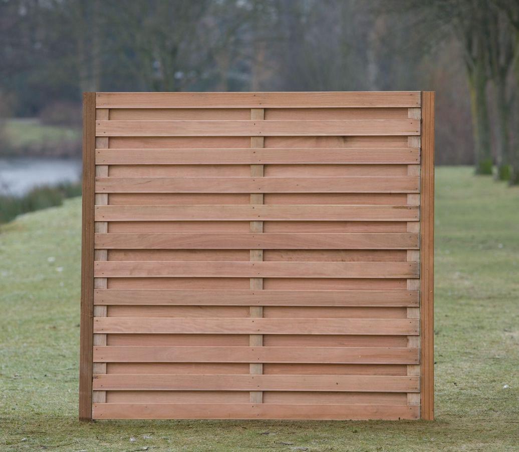 Image Of Horizontal Fence Panels Size Privacy Fence