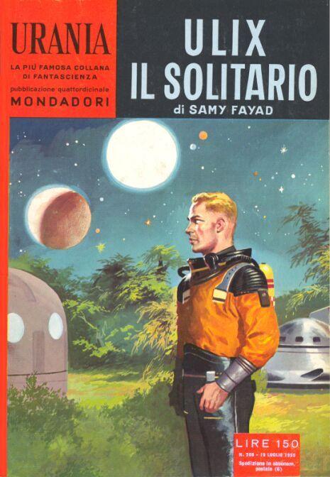 208  ULIX IL SOLITARIO 19/7/1959   Copertina di  Carlo Jacono   SAMY FAYAD