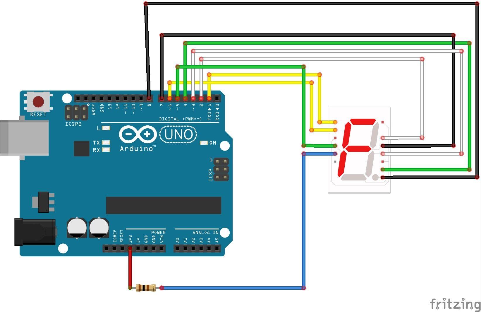 7 Segment Display Clock Circuit Diagram In 2020 Circuit Diagram Snap Circuits Seven Segment Display