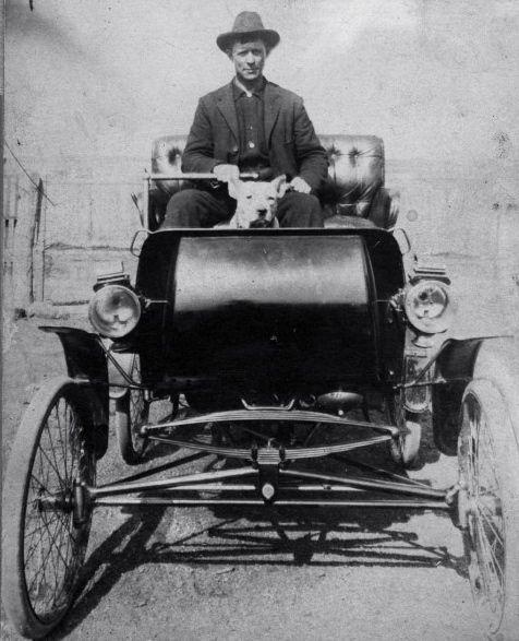 the first car ride in Denton Texas  1900 | Texas | Denton texas