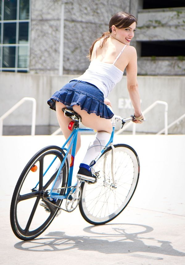 japanese school girl bicycle