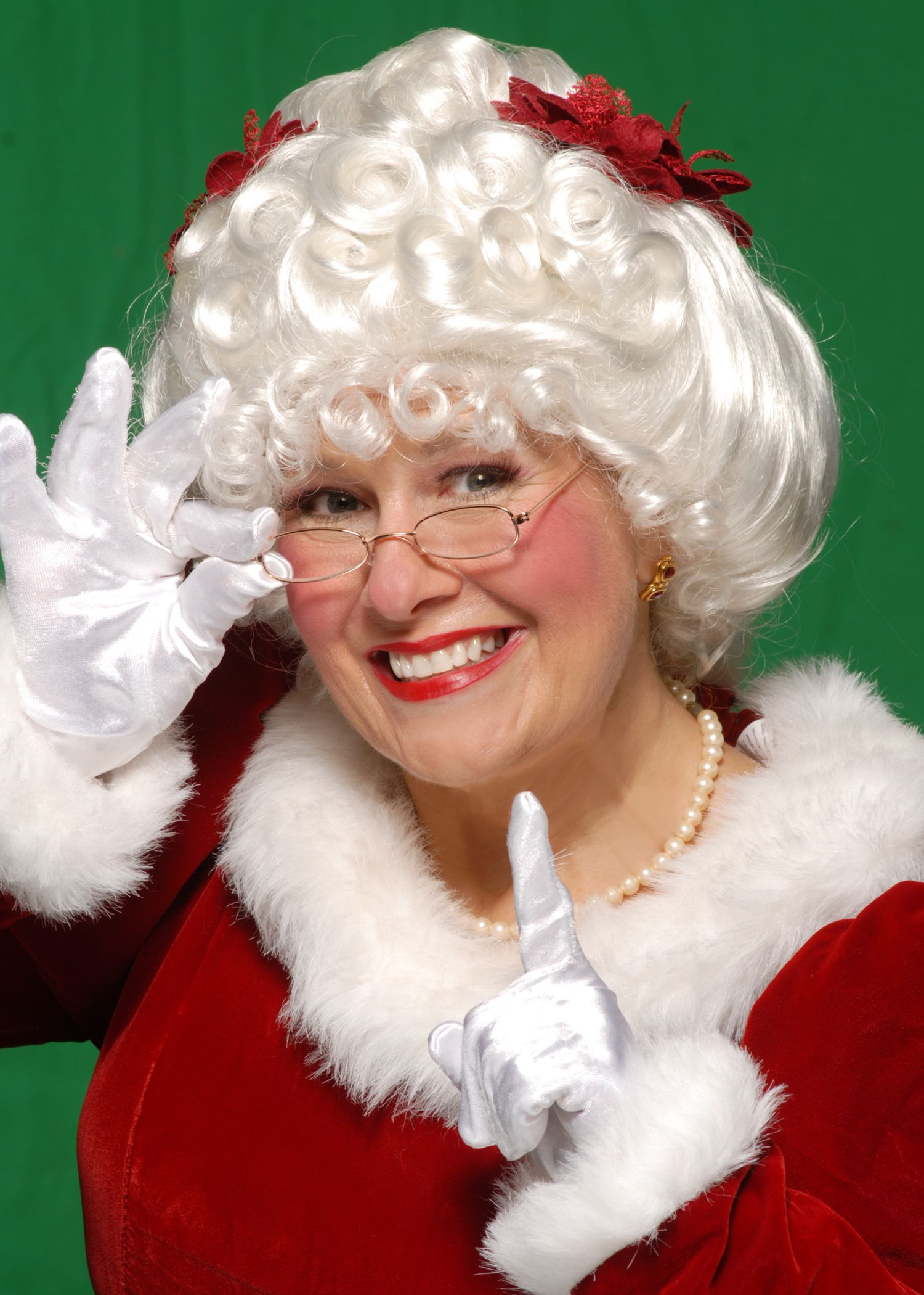 Pin by Marylourdes Durdan on Santa dress Mrs claus