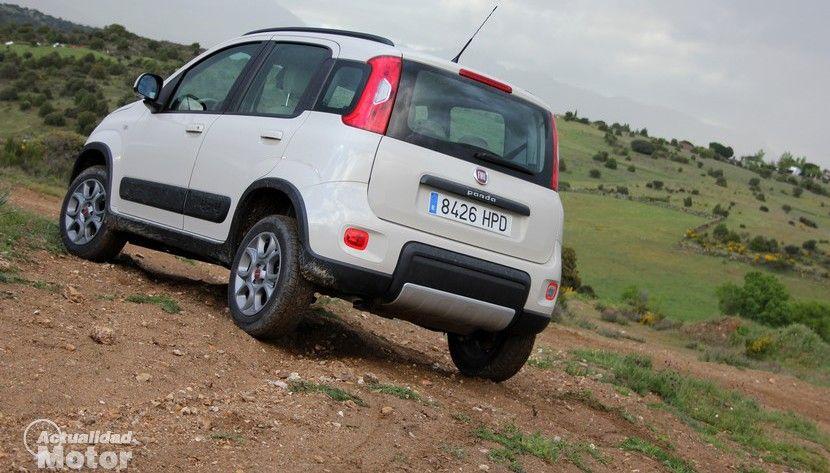 Prueba FIAT Panda 4x4 1.3 Multijet 75 CV, equipamiento y