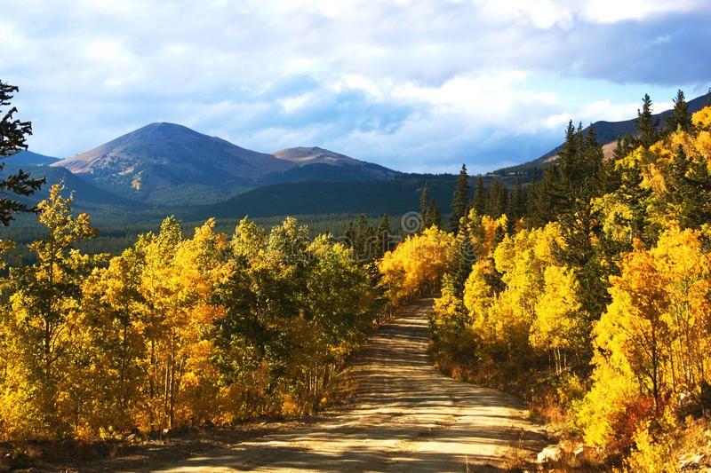 Boreas Pass In Autumn. Boreas pass, near Breckenridge