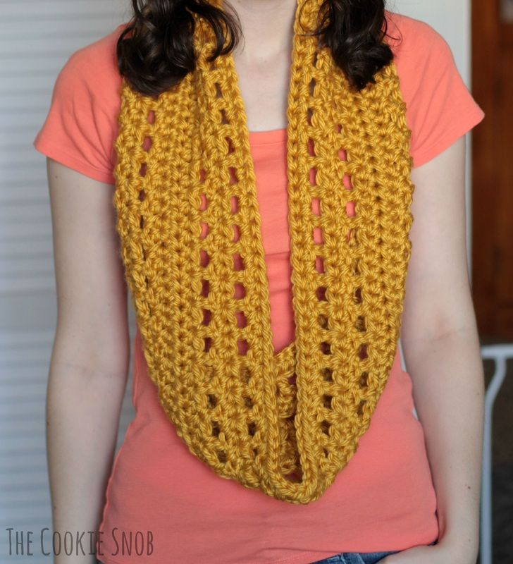 Chunky Windowpane Cowl Pattern | Crochet Scarves | Pinterest