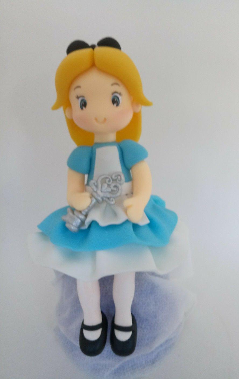Alice No Pais Das Maravilhas Em Biscuit Com Imagens Alice No