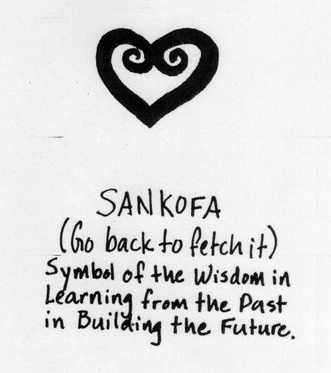 Sankofa Name Symbol For Dress Line More At Pinterest