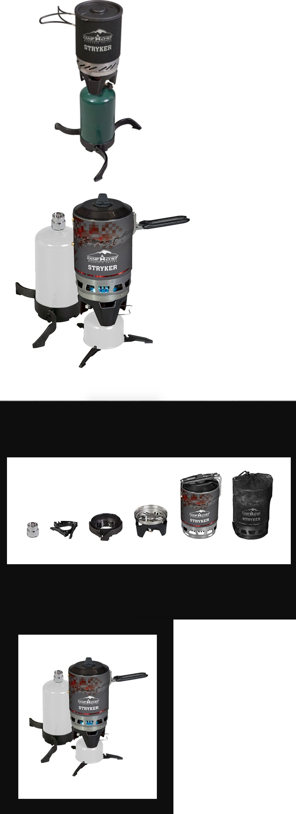 Parts and Accessories 181389: Stryker 150 Camp Chef Camping Burner ...