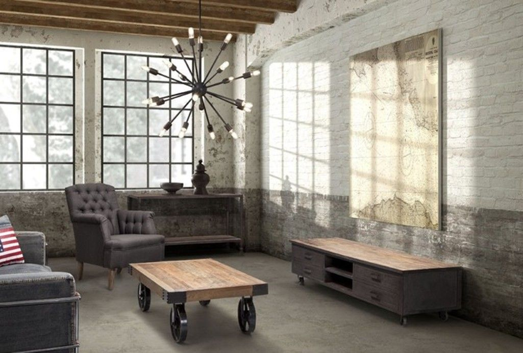 Industrial Living Room Design 20 Stunning Industrial Living Room Designs  Industrial Living