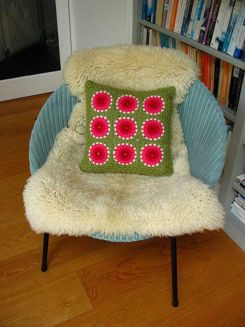 crochet cushions | Flickr - Photo Sharing!