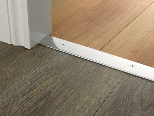 Best Premier Trim Cover 38Mm In Brushedchrome Flooring 400 x 300
