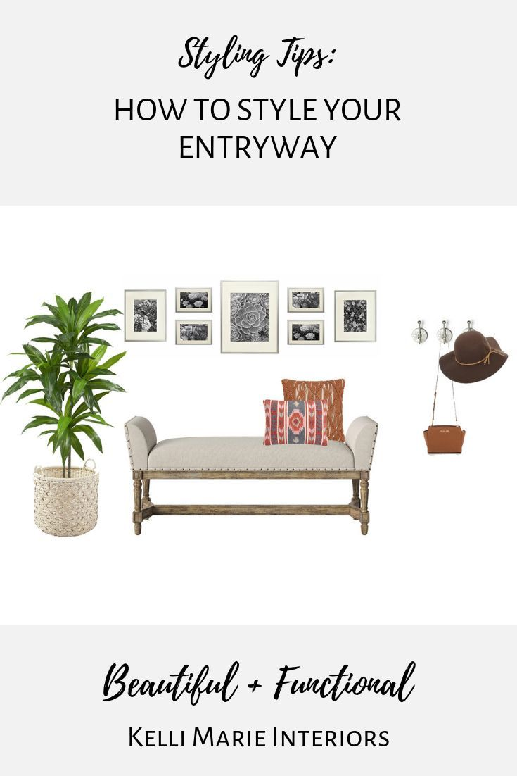 Photo of Styling Tips: How to Style an Entryway – Blog – Kelli Marie Interiors