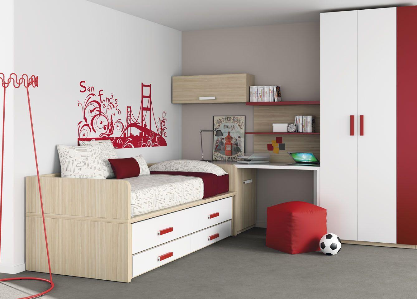 Habitaci n infantil del cat logo de mueble juvenil kids up2 de muebles ros kids up 2 - Mueble infantil valencia ...