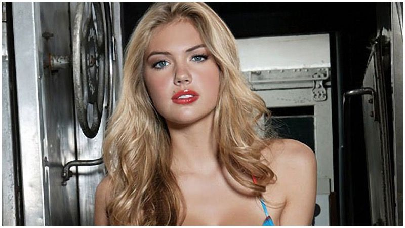 DISTURBING! Supermodel Kate Upton Just Compared Guns To