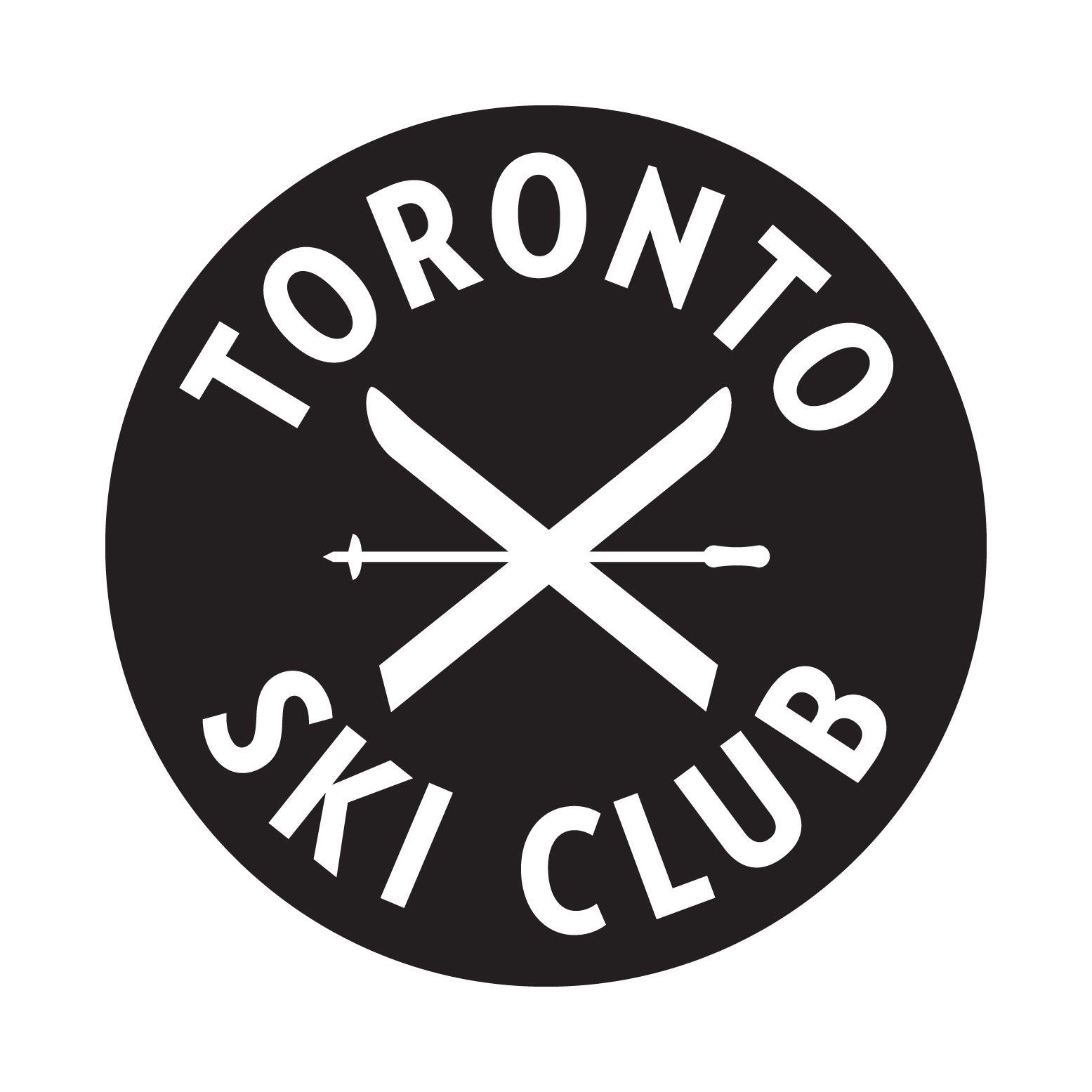 The Toronto Ski Club Logo Ski Club Logo Ski Club How To Raise Money