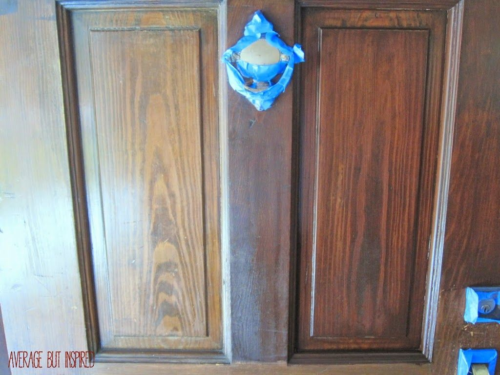 How to Refinish an Exterior Door The Easy Way & How to Refinish an Exterior Door The Easy Way | Exterior Doors ... Pezcame.Com