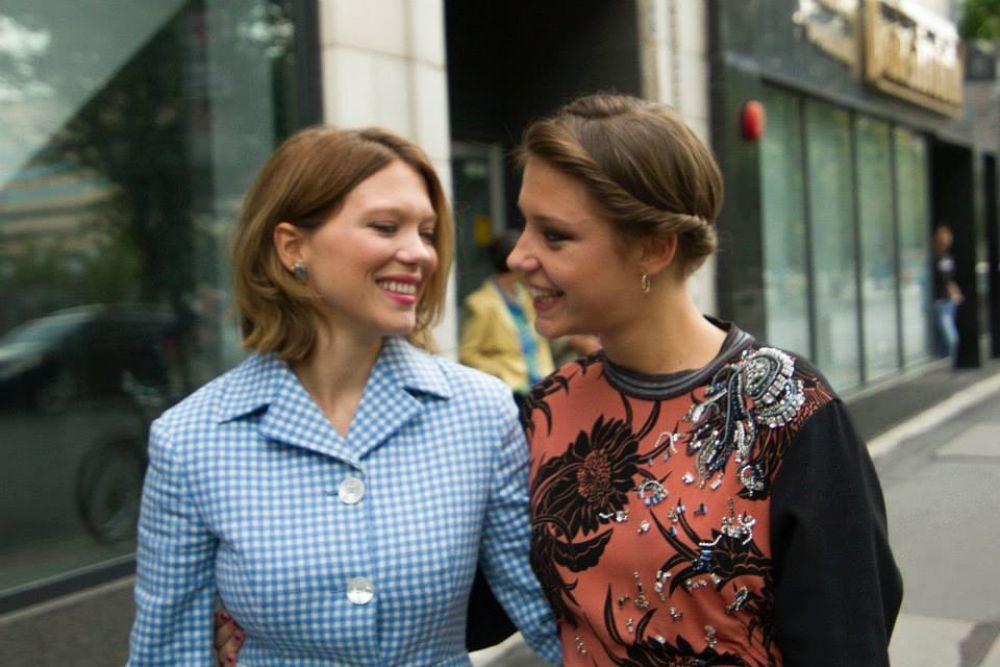 Lea Seydoux and Adele Exarchopoulos Photos Photos - La