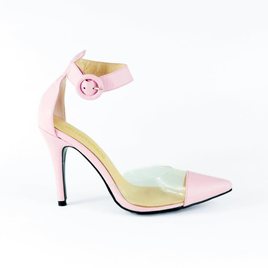 LOLA Vinyl Pink Shoe | VEGAN, FAUX LEATHER and TEXTILE shoes