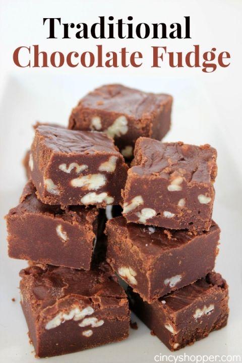 Traditional Chocolate Fudge Recipe Recipe Fudge Recipes Fudge Recipes Chocolate Fudge Recipes Easy