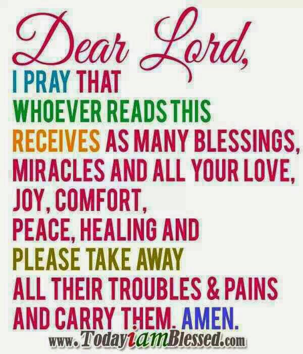 Blessings Me You Lord Your Quotes Thank