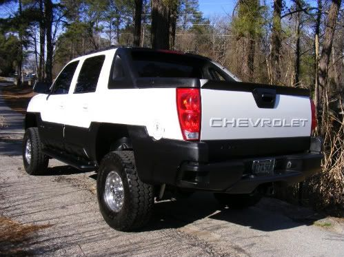Painted My Cladding Avalanche Truck Chevy Avalanche Chevy