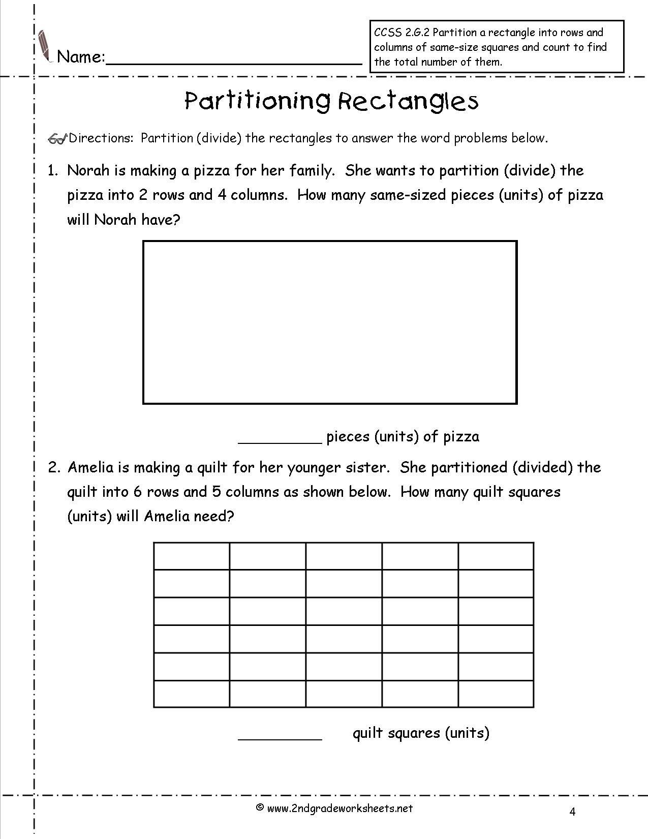 Pin On 2nd Grade Math Worksheets