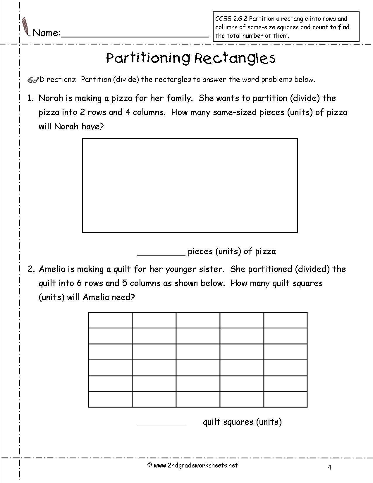 Pin On 2nd Grade Math Worksheets