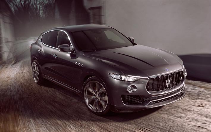 Download wallpapers novitec tuning maserati levante 4k 2017 cars luxury cars levante - Maserati levante wallpaper ...